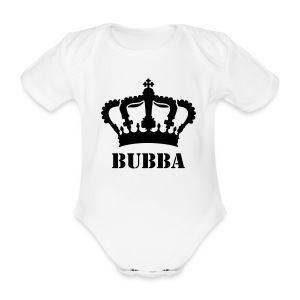 Baby Boys 'Bubba' One Piece - Organic Short-sleeved Baby Bodysuit