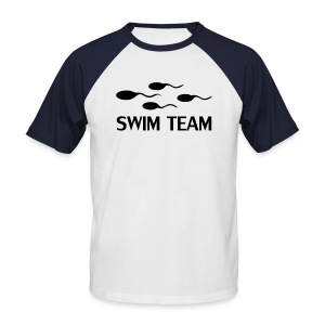Swim Team (Baseball Shirt) - Men's Baseball T-Shirt