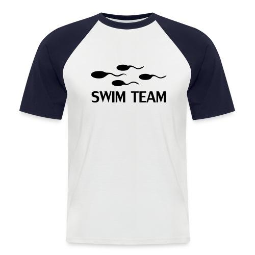 Swim Team (Baseball Shirt) - Men's Baseball T-Shirt