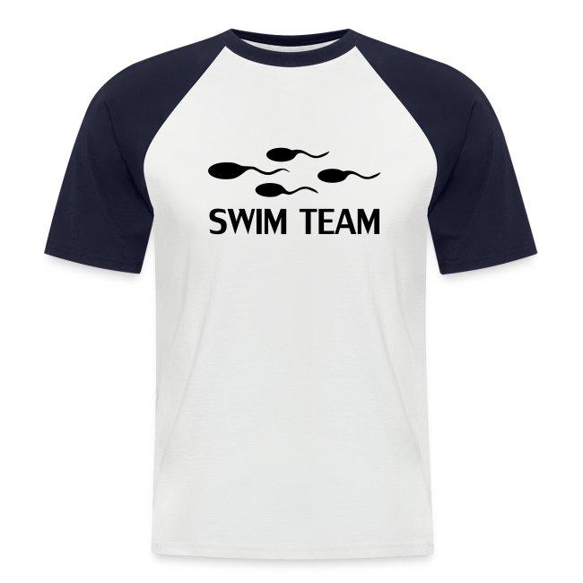 Swim Team (Baseball Shirt)