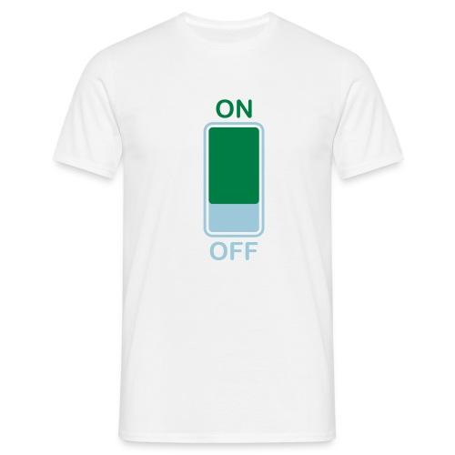 ON OFF - Maglietta da uomo