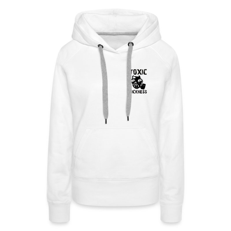 Ladies TS hoodie with logo on left breast - Women's Premium Hoodie