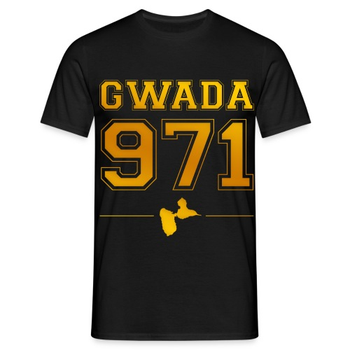 t- shirt homme GWADA 971 - T-shirt Homme