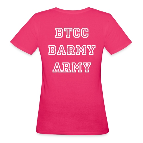 Pink for the ladies - Women's Organic T-Shirt
