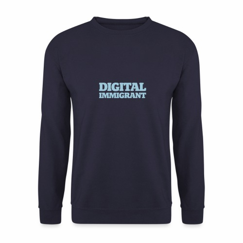 Digital Immigrant - Männer Pullover