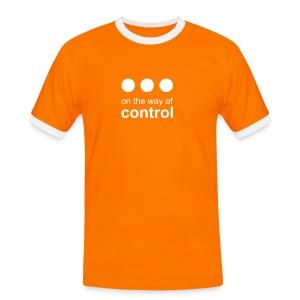 Control • flex white - T-shirt contrasté Homme