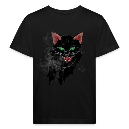 Chat noir - T-shirt bio Enfant