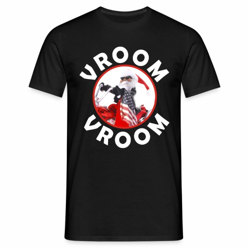 Santa Vroom Vroom - Men's T-Shirt