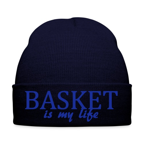 Bonnet basket is my life - Bonnet d'hiver