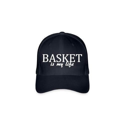 Casquette basket is my life - Casquette Flexfit