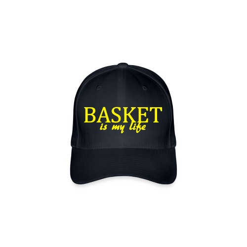 Casquette basket is my life - Casquette Flexfit