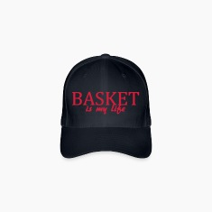 basket is my life Caps & Hats