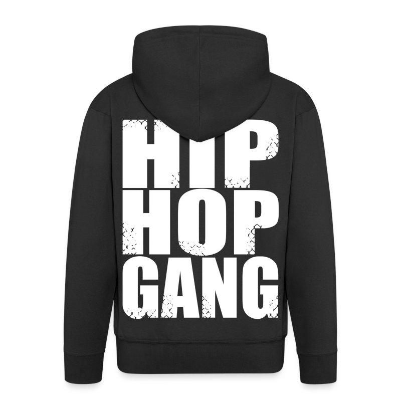 veste capuche hip hop gang spreadshirt. Black Bedroom Furniture Sets. Home Design Ideas