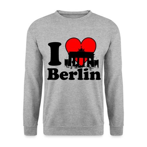 I Love Berlin Brandenburger Tor Pullover - Männer Pullover
