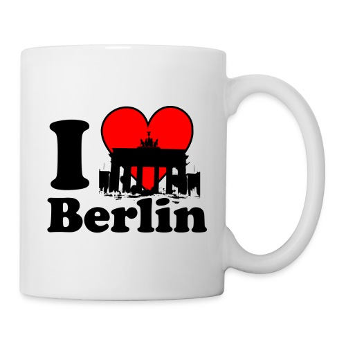 I Love Berlin Brandenburger Tor Tasse - Tasse