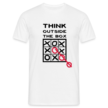 Think outside the box, creative thinking, thoughts are free T-Shirts