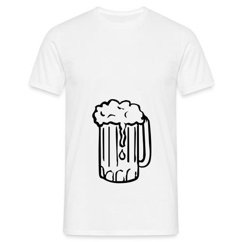 mannen (snor bril) - Mannen T-shirt