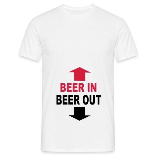 mannen (bier 1) - Mannen T-shirt