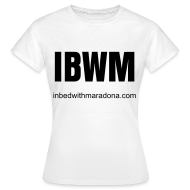 T-Shirts ~ Women's T-Shirt ~ The IBWM base tee (women)