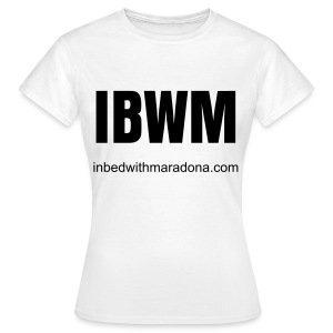 The IBWM base tee (women) - Women's T-Shirt