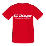 Shirts ~ Teenage T-shirt ~ The IBWM kids 'El Diego' tee
