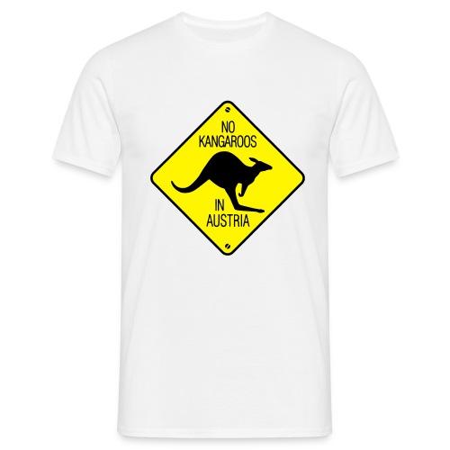 NO KANGAROOS IN AUSTRIA T-shirt - Men's T-Shirt