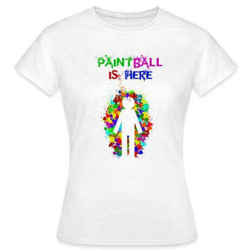 Community - paintball is here - Camiseta mujer