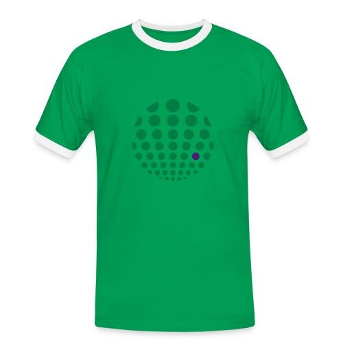 Raster-Komplementär - Männer Kontrast-T-Shirt