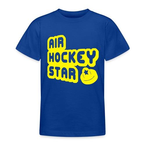 Air Hockey Star Children's T-Shirt - Teenage T-Shirt