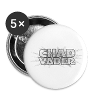 Buttons ~ Buttons small 25 mm ~ CHAD VADER