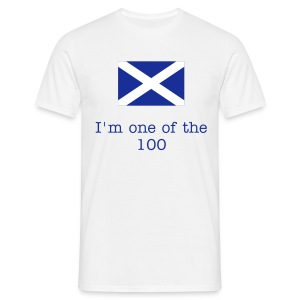 saltire 100 - Men's T-Shirt