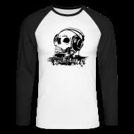 Long sleeve shirts ~ Men's Long Sleeve Baseball T-Shirt ~ Rockstar Deluxe T long sleeves
