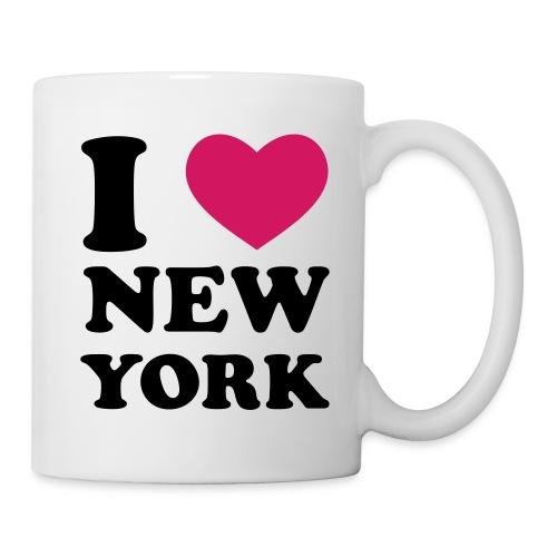 I love NY - Mug blanc