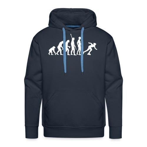 Evolution Inlineskater Kapuzensweater Herren - Männer Premium Hoodie