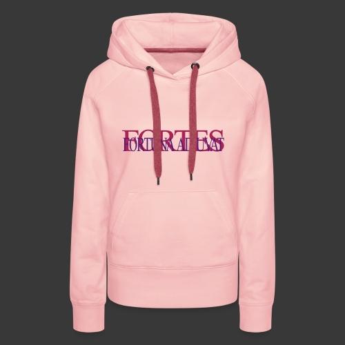 FORTES FORTUNA ADIUVAT - Women's Premium Hoodie