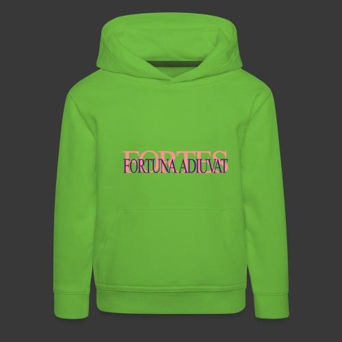 FORTES FORTUNA ADIUVAT - Kids' Premium Hoodie