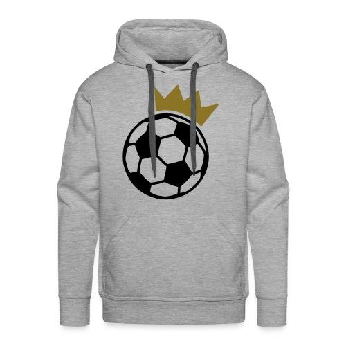 king football - Sweat-shirt à capuche Premium pour hommes