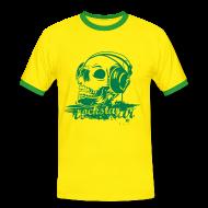 T-Shirts ~ Men's Ringer Shirt ~ Rockstar Deluxe T short sleeves
