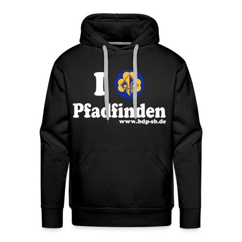 I love Pfadfinden - Kapuzenpullover - Männer Premium Hoodie