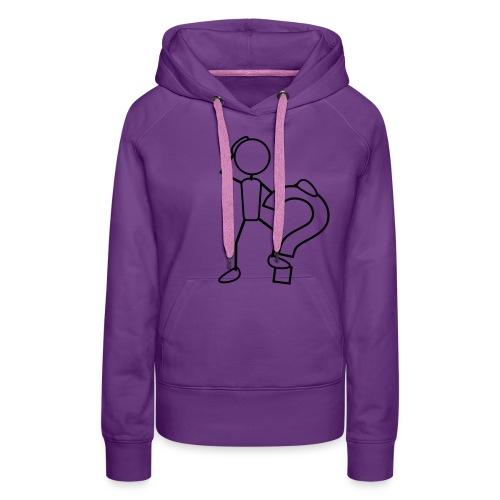 cherche ton style - Sweat-shirt à capuche Premium pour femmes