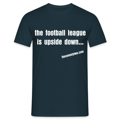Upside Down - Men's t-shirt - Men's T-Shirt