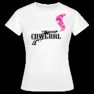 T-Shirts ~ Women's T-Shirt ~ Cowgrrl Basic Tee