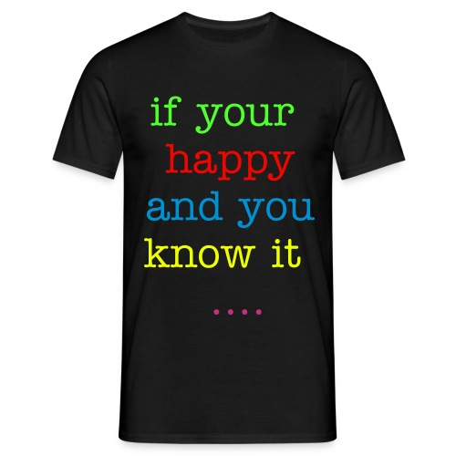 clap your hands - Men's T-Shirt
