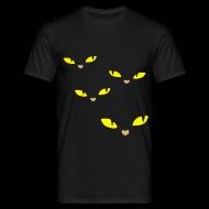 T-shirts ~ Mannen T-shirt ~ Yellow eye catcher Tee