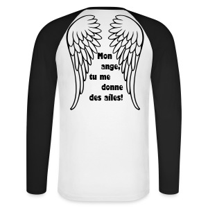 Aile d'ange - T-shirt baseball manches longues Homme