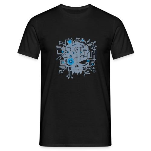 CyberSkull T-Shirt - Men's T-Shirt