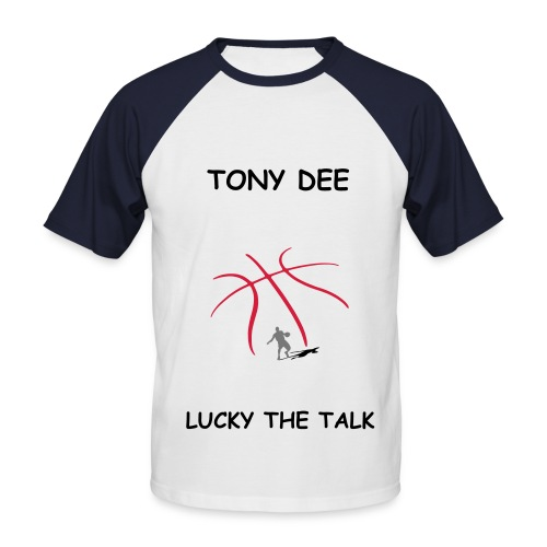 T-shirt baseball manches courtes Homme - SPECIALLY FOR TONY