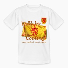 Scottish Lion Rampant kids