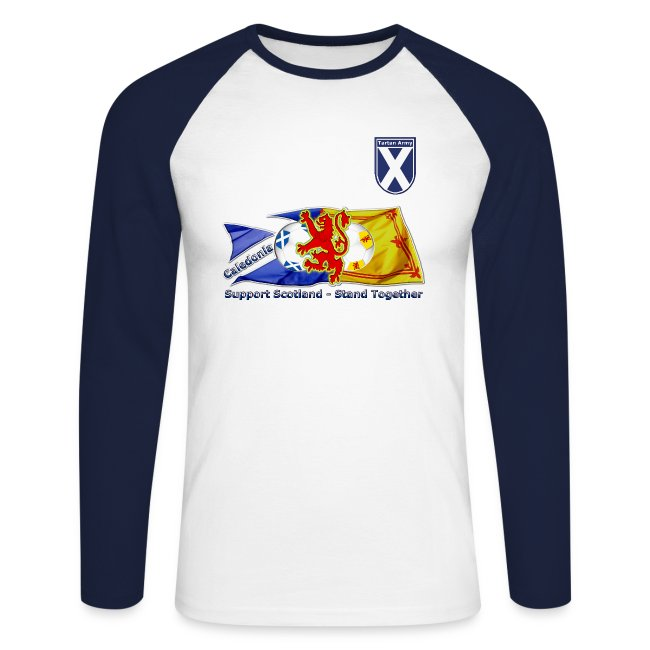 e1bdb2cfab9 T-Shirt lounge original clothing | Scottish Tartan Army mens combi ...