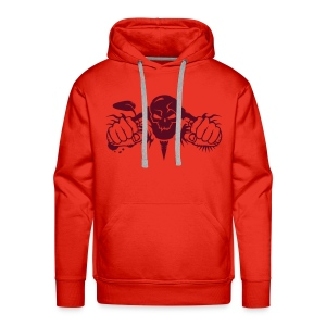Skull Motorcycle Hoodies & Sweatshirts - Men's Premium Hoodie